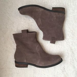 Sole Society Genuine Suede Slouchy Boot